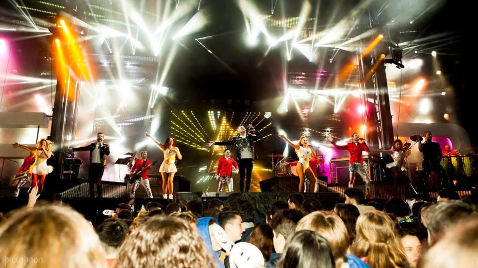 Panorama presenta su nuevo espectáculo en Pontevedra en el Portas Xoven de este viernes. Aquí las primeras imágenes