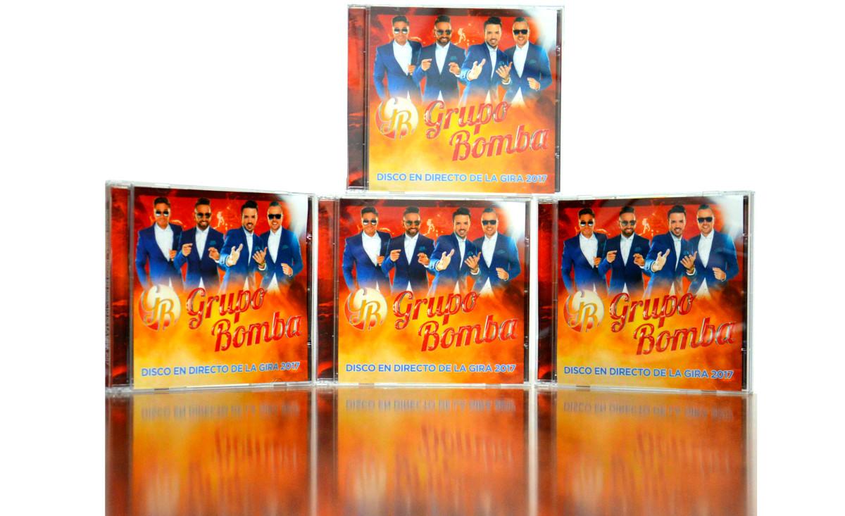 Bomba presenta en Galicia su nuevo CD, grabado durante su Gira 2017. Regalamos cuatro…