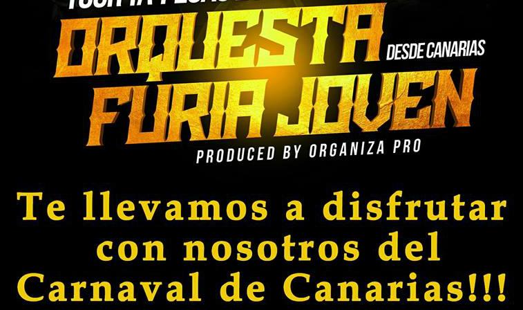 Furia Joven sortea un viaje para dos personas al Carnaval de Canarias. Descubre cómo participar