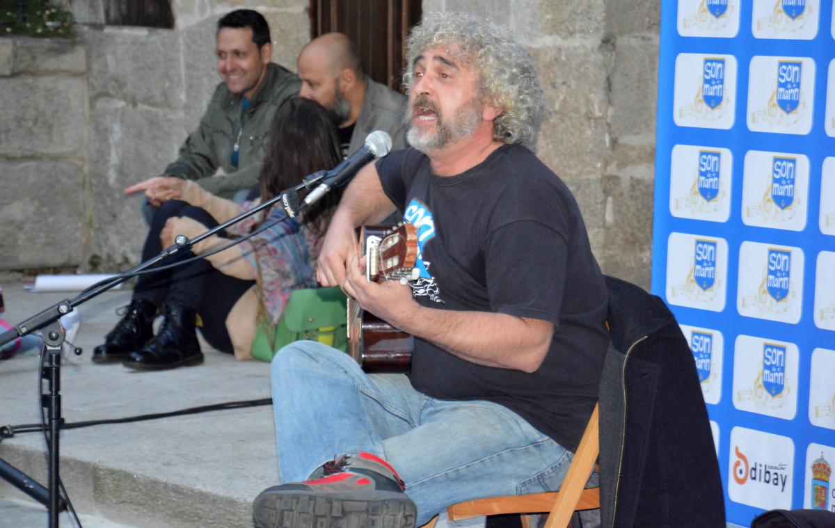 Ricardo Parada acerca toda su música y humor este sábado a Seixo-Marín