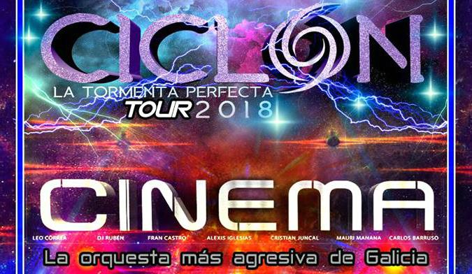Cinema y Ciclón, juntas este viernes en Dilema-Silleda