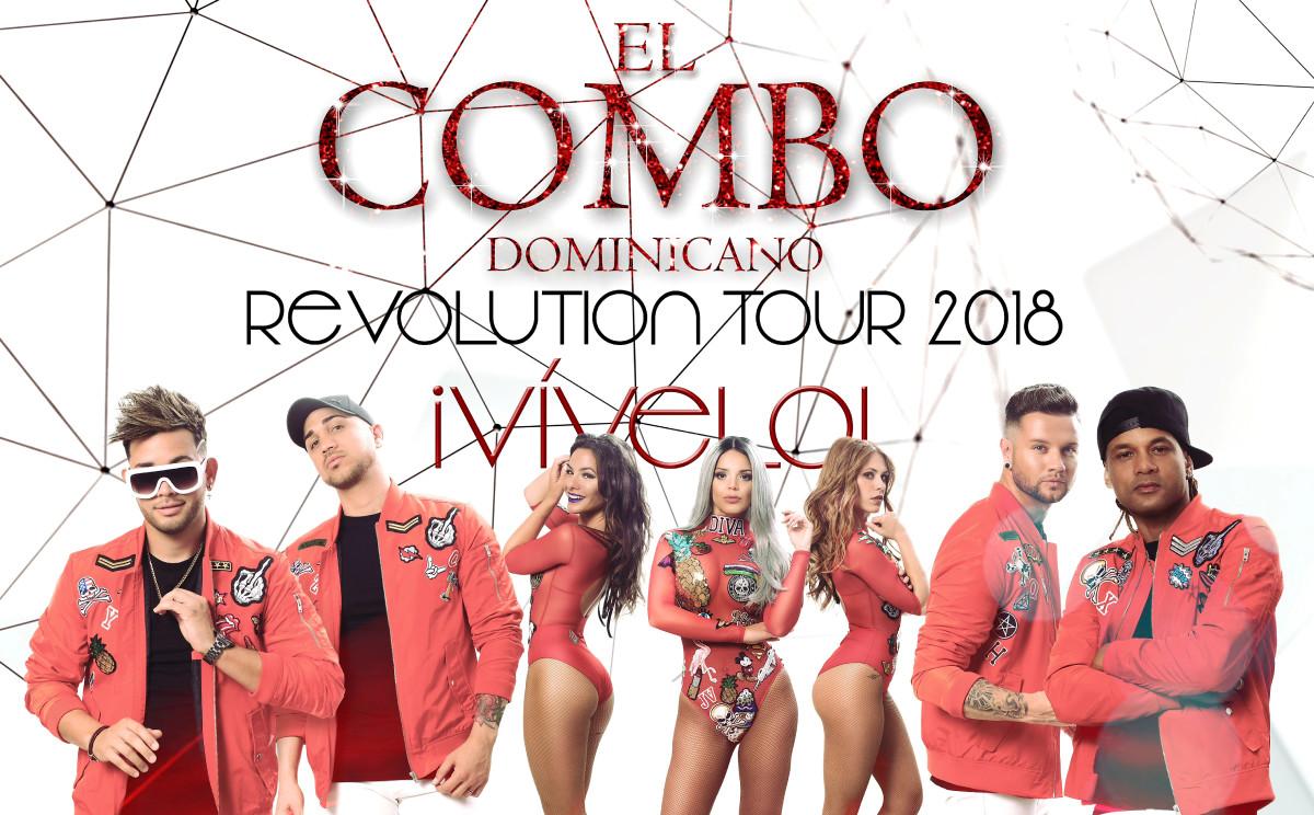 El Combo: Revolution Tour 2018. Adelantamos todas las novedades de la Gira