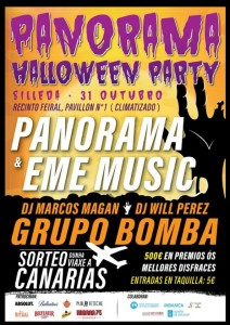 cartel Panorama Halloween