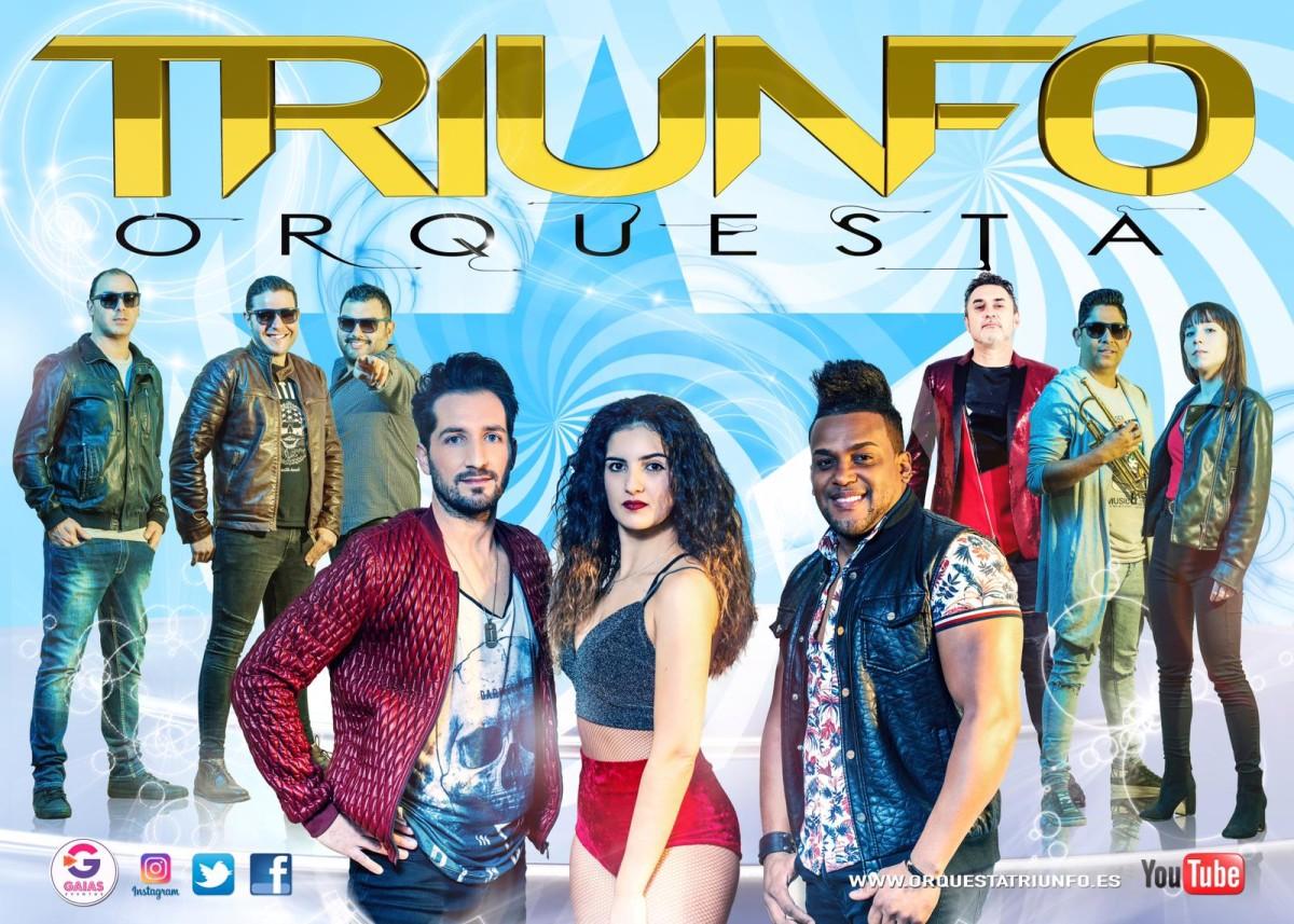 Triunfo se presenta como orquesta con un equipo espectacular