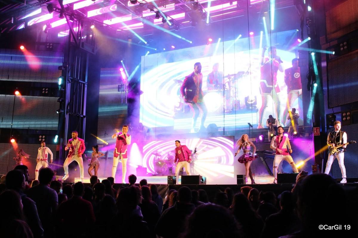 La Fórmula: Un espectáculo soprendente para cantar, bailar y no pestañear