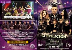 CARÁTULA DVD LA FÓRMULA