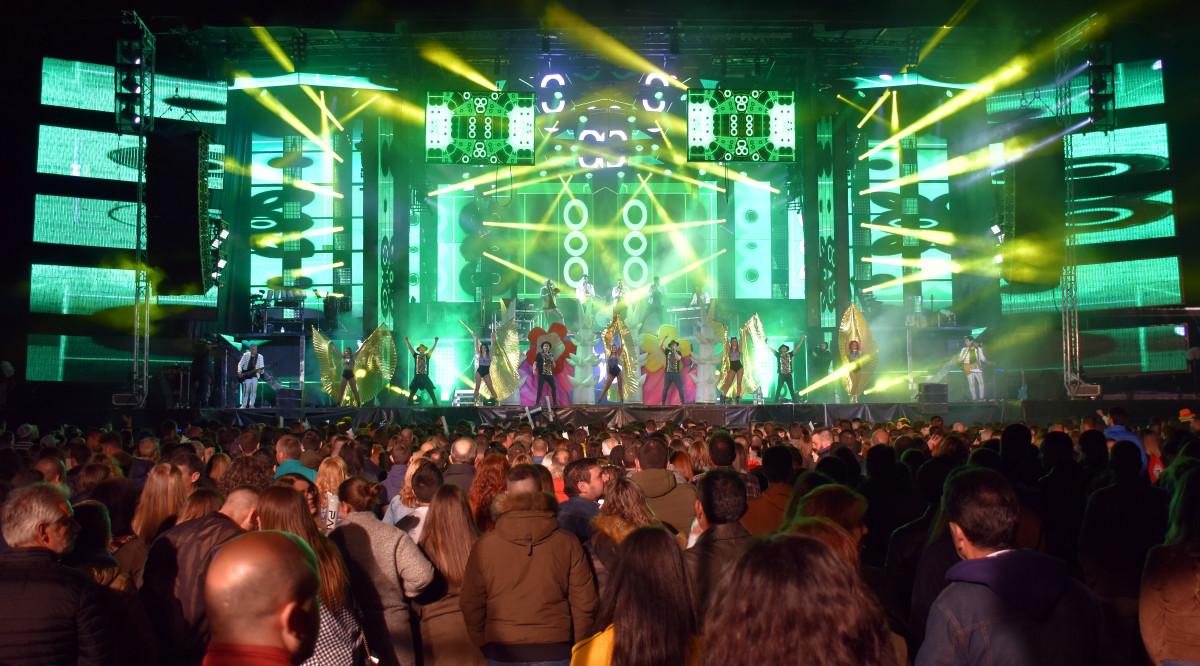 Spring Festival: Nueve horas de música y espectáculo ante 4.000 personas