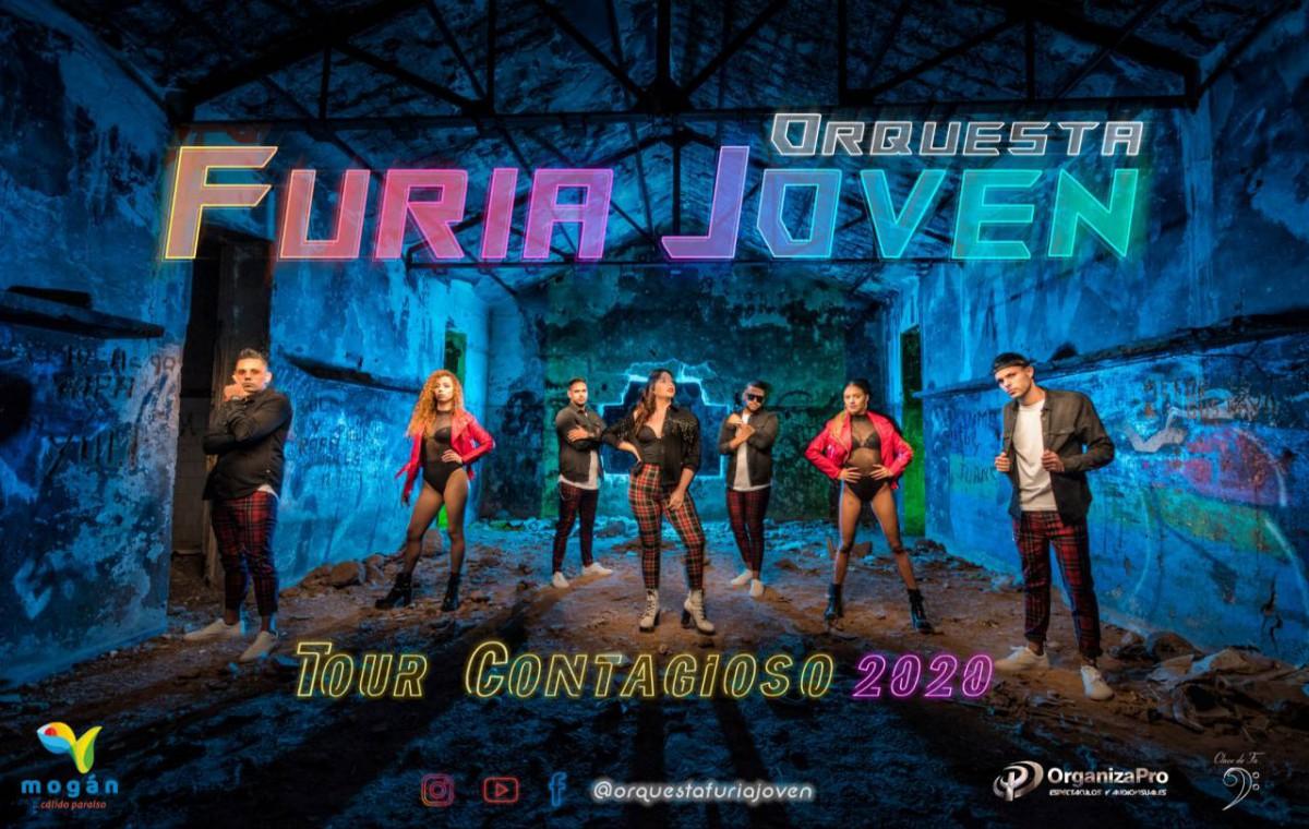 Furia Joven: Tour Contagioso 2020, una Gira más larga y espectacular
